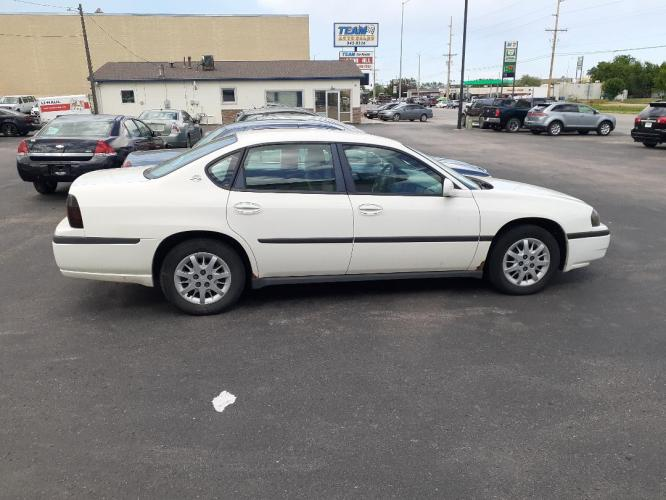 2004 Chevrolet Impala Base (2G1WF52EX49) with an 3.4L V6 OHV 12V engine, 4-Speed Automatic Overdrive transmission, located at 2015 Cambell Street, Rapid City, SD, 57701, (605) 342-8326, 44.066433, -103.191772 - Photo #0