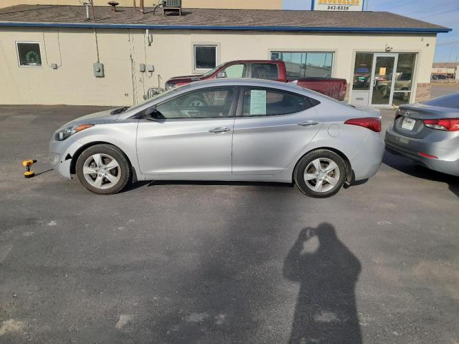 2013 Hyundai Elantra GLS A/T (KMHDH4AE2DU) with an 1.8L L4 DOHC 16V engine, 6-Speed Automatic transmission, located at 2015 Cambell Street, Rapid City, SD, 57701, (605) 342-8326, 44.066433, -103.191772 - Photo #0